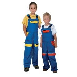 Kalhoty COOL TREND s laclem dětské barvy  modro-žluté 80048341fb