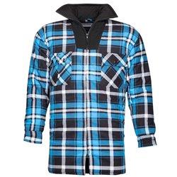 Košile JONAH ZIMNÍ, flanelová, modrá