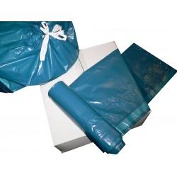 Pytle na odpadky zavazovací 70x100cm typ 60 µm LDPE modrý, 120 l, 25 ks - cena za balení 25 ks