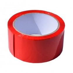 Lepící páska 48x66 červená...