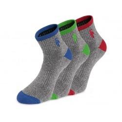 Ponožky CXS PACK, šedé,...