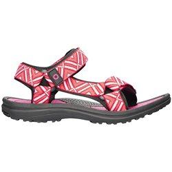Obuv LILY, sandál, dámská, treková, růžovo-černá
