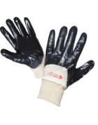 Polomáčené a celomáčené rukavice, rukavíce máčené v nitrilu,