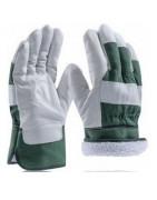 Zateplené rukavice, rukavice s kožíškem, zimní rukavice,