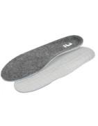 Doplňky obuvi – návleky, vložky, ponožky, tkaničky